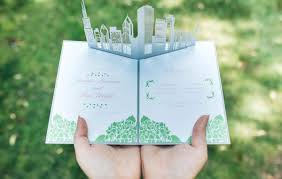 pop up wedding invitations wow wedding invitations custom pop up invites partyideapros