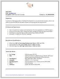 Cv And Resume Samples by Best 25 Resume Format For Freshers Ideas On Pinterest Resume