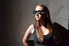 Sunglass Meme - deal with it sunglasses thug life mlg 8 bit novelty gag gift meme