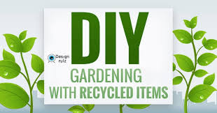 Recycled Garden Art Ideas - creative decorations with recycled items to turn your backyard