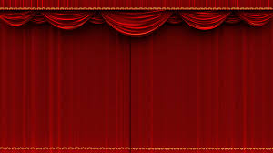 home theater curtain 4k high detail red velvet theater curtain opening with alpha matte