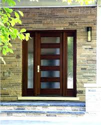 Exterior Entry Doors With Glass Exterior Front Doors Wood S S Exterior Front Entry Wood Doors