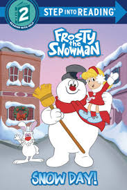 step reading snow frosty snowman
