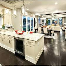open concept kitchen living room designs open kitchen living room design the home beach style living room