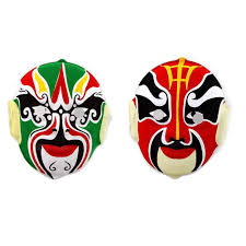 halloween mask shop popular chinese party mask buy cheap chinese party mask lots from