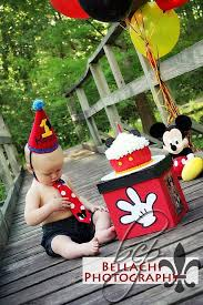 mickey mouse smash cake session mickey mouse smash cake session