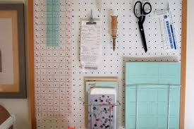 pegboard kitchen ideas how to a pegboard wall organizer apartment therapy