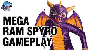 Spyro Halloween Costume Cotv Skylanders Swap Force Mega Ram Spyro Gameplay E3m13
