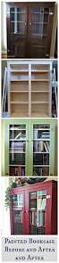 Painted Furniture Ideas Before And After Best 25 Painted Bookcases Ideas On Pinterest Painting Bookcase
