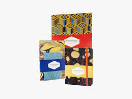 Decorated Paper Decorated Papers Set Of 3 Notebooks