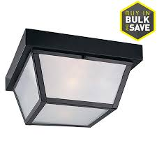Outdoor Flush Mount Ceiling Light Shop Outdoor Flush Mount Lights At Lowes