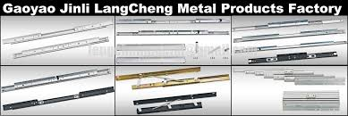telescoping aluminum slide rails for extension dining table view