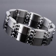 mens personalized bracelet stainless steel mens id bracelet with name engraving personalized
