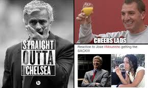 Mourinho Meme - jose mourinho virals memes mock sacked chelsea boss chelsea fans