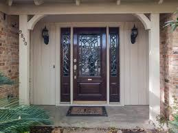 exterior wood doors therma tru patio steel entry door with one