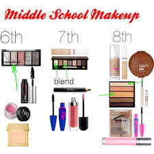 middle makeup 6th 7th 8th this also works for