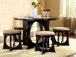 round dining room table for 4 furniture fascinating eyecatching round dining room tables