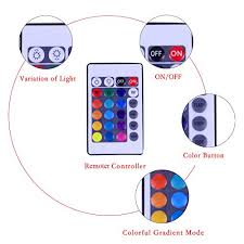 Color Interior Lights For Cars Exlight Multi Color Led Interior Lighting Kit For Car Atmosphere