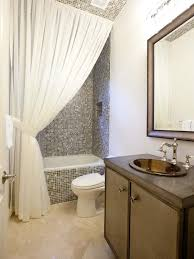 Bath Shower Curtains And Accessories Bathroom Bathroom Tiling Curtain Ties And Backsplash Ideas