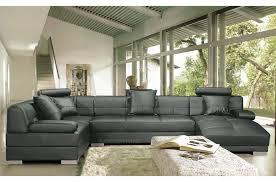 canap de luxe italien canapé d angle en cuir prestige luxe italien 8 places napoli gris
