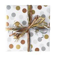 copper wrapping paper patterned wrapping paper large retail rolls qis packaging