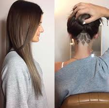 long hair at the front shaved at the back best 25 undercut long hair ideas on pinterest undercut