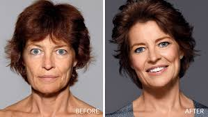 best haircuts for women over 50 with jowls bobbi brown s makeup facelift