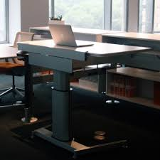 standing desk shootout steelcase airtouch height adjustable table