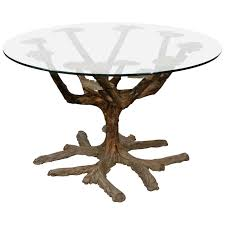 Dining Room Table Bases Tree Form Dining Table Base At 1stdibs
