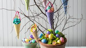 Easter Decorations For A Tree by How To Make An Easter Candy Tree Youtube