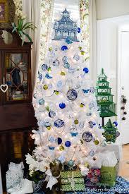 blue white tree celebrating everyday with