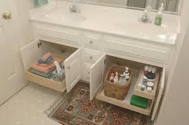 under sink bathroom storage solution organizing master