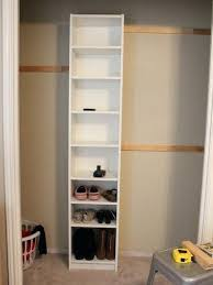 Billy Corner Bookcase Ikea Billy Shelves How To Build Your Own Closet Built Ins Using A