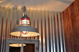 Galvanized Pendant Barn Light Wire Guard Pendant Gooseneck Light Give Home Industrial Vibe