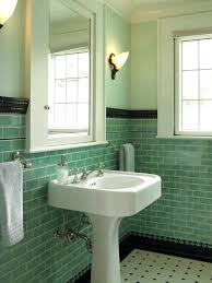 green bathroom tile ideas vintage green bathroom tile northlight co
