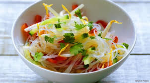 noodle salad recipes glass noodle glass noodle salad recipe