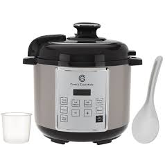 cooksessentials 4qt digital stainless steel pressure cooker page