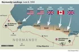 Normandy Map Normandy Beach Map My Blog