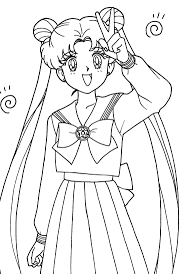 262 best coloring sailor moon sailor scouts anime images on