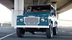 land rover vintage defender this marine blue land rover defender 90 is simply perfect airows