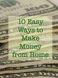 easy way to earn money 10 easy ways to make money from home thrifty jinxy