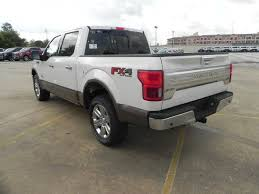 2018 ford f150 king ranch 5 miles white platinum tc crew cab