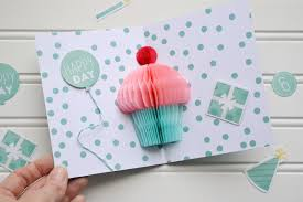 pop up birthday card honeycomb cupcake pop up card tutorial we r memory