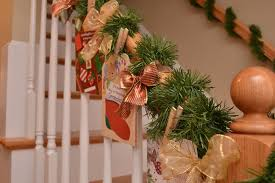 Christmas Banister Garland Ideas Beautiful Christmas Decorations That Turn Your Staircase Into A