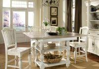 Homelegance Ohana Counter Height Dining Homelegance Ohana Counter Height Table In Antique White Warm