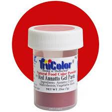annatto gel paste natural food color 7 grams