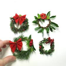 diy christmas decor for the miniature garden the mini garden