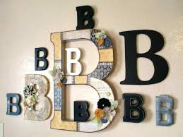 stickers english letter wall decals living decorative metal