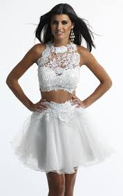 two piece white prom dresses plus size prom dresses