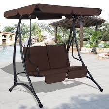 Patio Chair Swing 2 Person Patio Canopy Swing Chair Porch Swings Outdoor Living